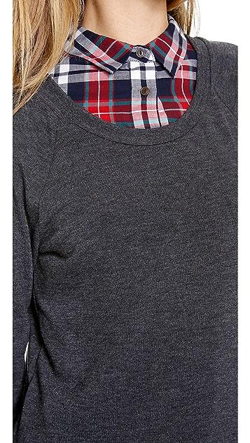 Three Dots Easy Fit Sweatshirt