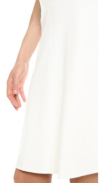 Three Dots Knee Length Trumpet Skirt