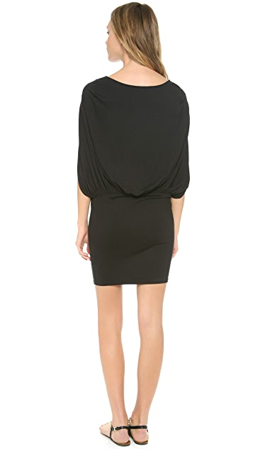 Three Dots Blouson Dress