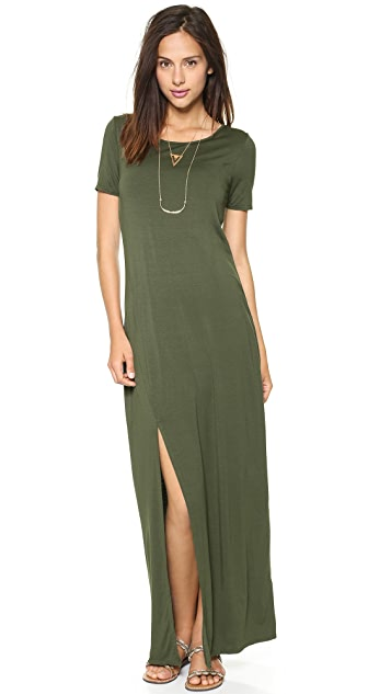 Three Dots Maxi Tee Dress