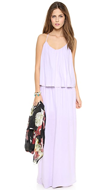 Three Dots Layered Maxi Dress