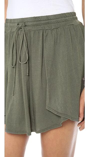 Three Dots Layered Skirt
