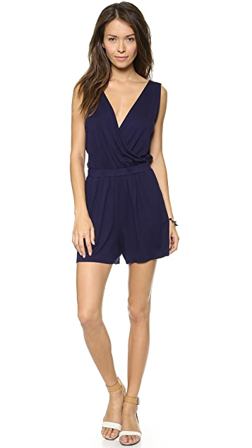 Three Dots Crossover Romper