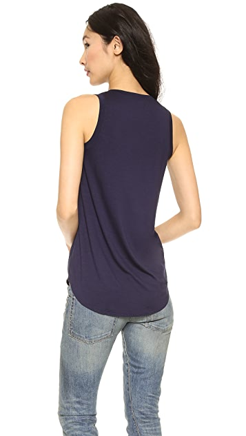 Three Dots Long Tank Top