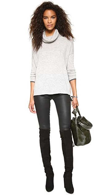 Three Dots Raleigh Cashmere Sweater