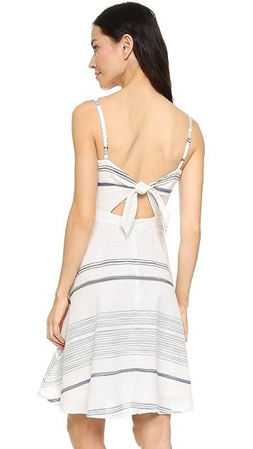 Three Dots Gretta Tie Back Dress