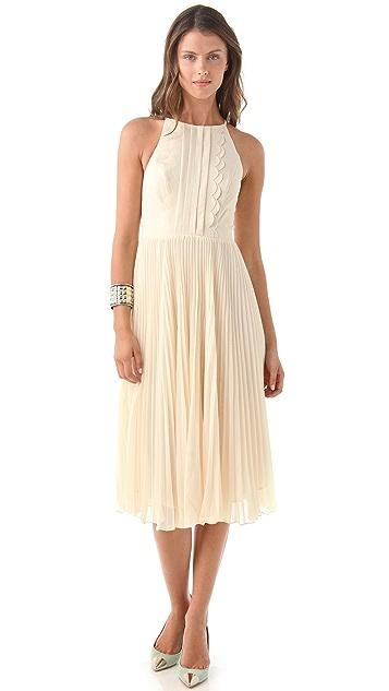 Three Floor Sway Midi Dress