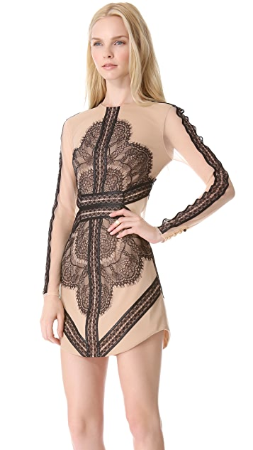 Three Floor Mademoiselle Dress