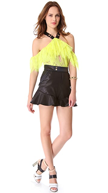 Three Floor High Voltage Romper