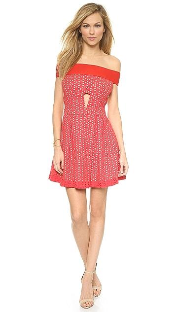 Three Floor Little Red Dress