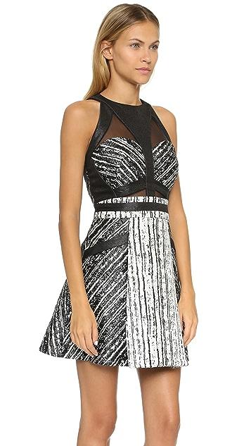 Three Floor Bambara Halter Sleeveless Dress