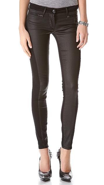 3x1 Paneled Skinny Jeans