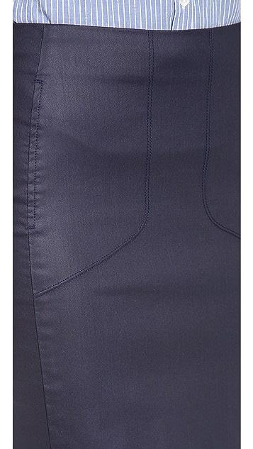 3x1 Moto Pencil Skirt