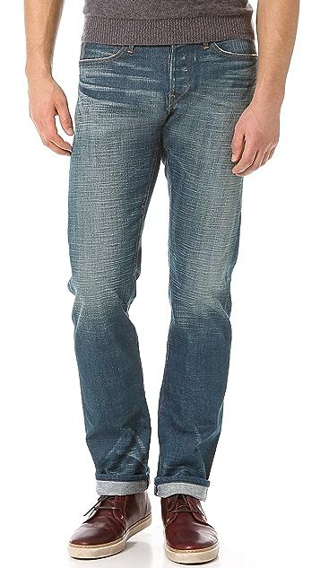 3x1 M4 Bond Distressed Jeans