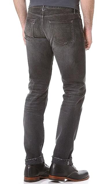 3x1 Eldridge Distressed Tinted Jeans