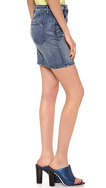 3x1 Denim Miniskirt