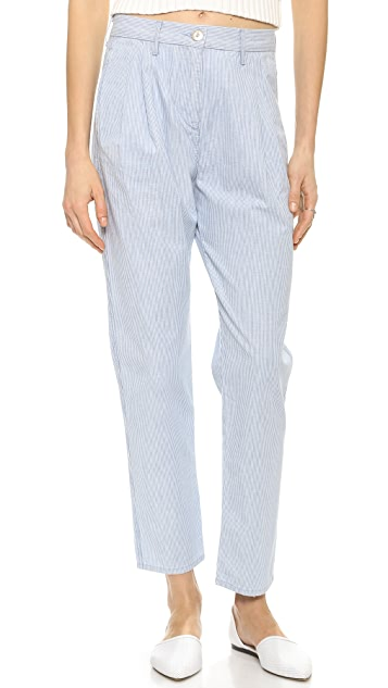 3x1 W2 Pleated Railroad Trousers