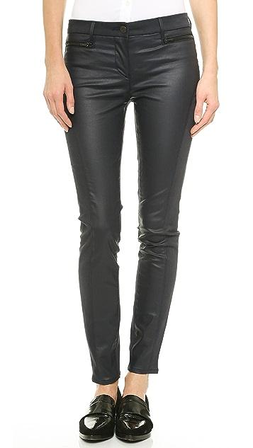 3x1 W2 Mid Rise Wrap Zip Jeans