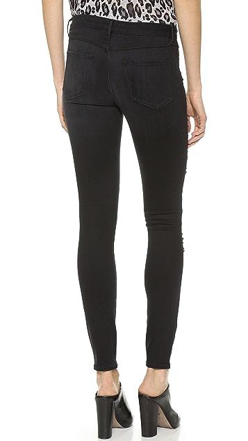 3x1 W2 Mid Rise Regular Skinny Jeans