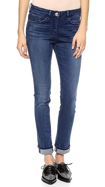 3x1 W2 Mid Rise Straight Leg Jeans