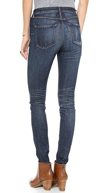 3x1 W3 High Rise Regular Skinny Jeans