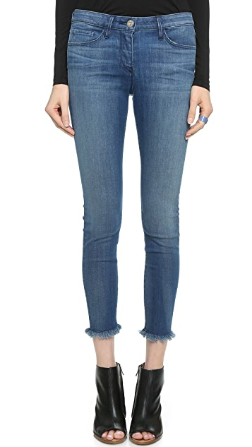 W2 Mid Rise crop jeans 3x1 X4TrEGdz