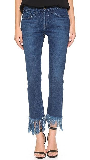3x1 WM3 Crop Selvedge Jeans