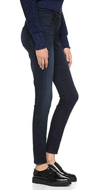 3x1 W3 High Rise Channel Seam Skinny Jeans