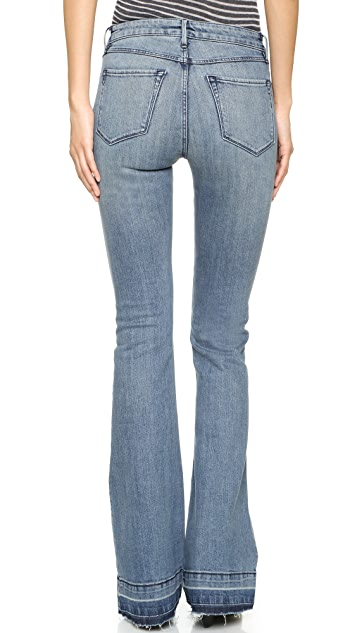 3x1 W25 Mid Rise Bell Bottom Jeans