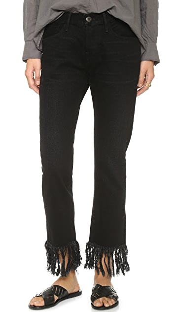 3x1 WM3 Fringe Jeans