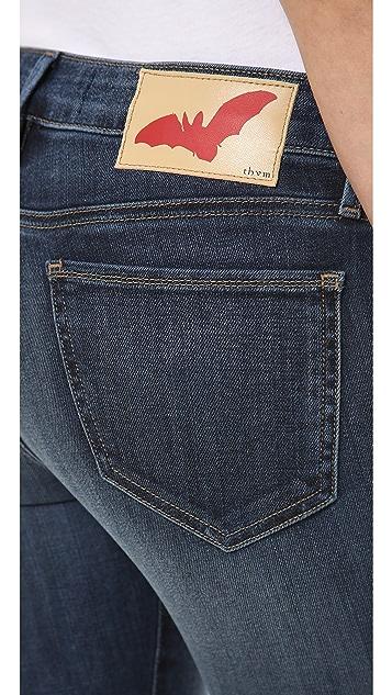 THVM Behati Wash Skinny Jeans