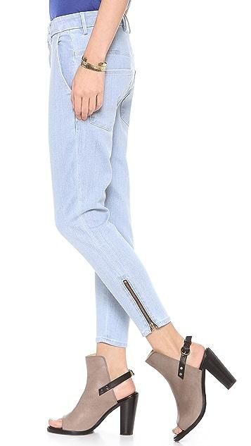 THVM Ice Zip Jeans