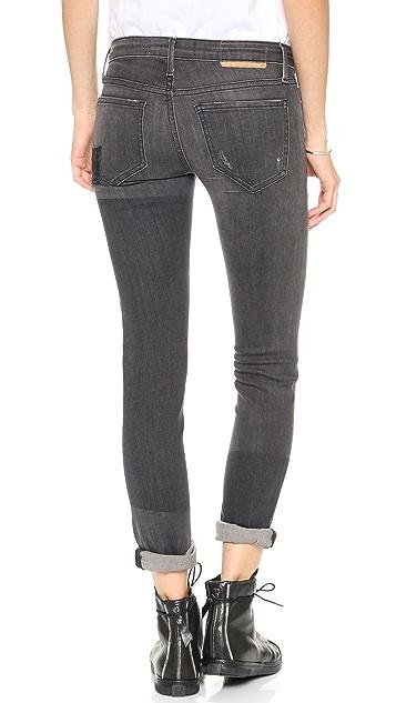 THVM Behati Punk Cigarette Jeans