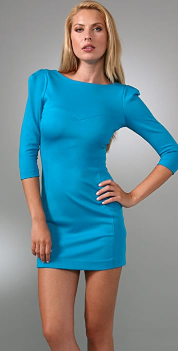 Tibi 3/4 Sleeve Dress