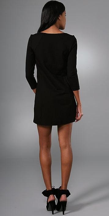 Tibi Ponte Shift Dress