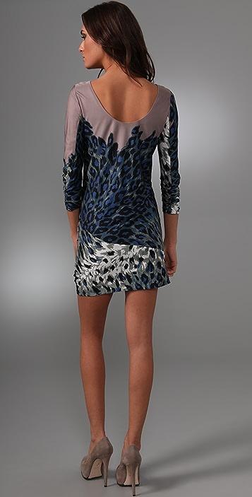 Tibi Zola Draped Shift Dress