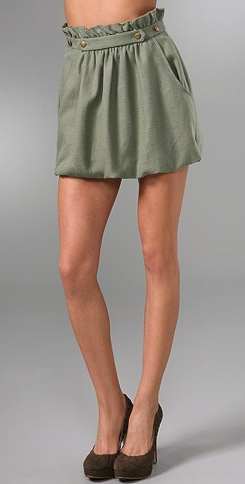 Tibi Juma Skirt