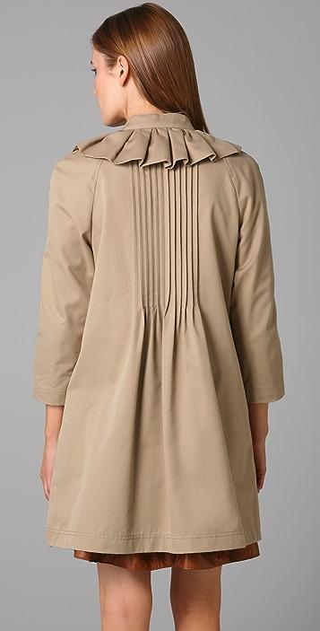 Tibi Bow Trench Coat