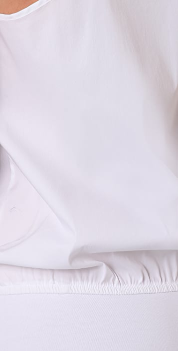 Tibi Button Down Bodysuit
