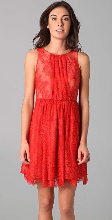 Tibi Imperial Lace Dress