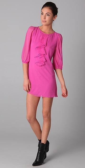 Tibi Ruffle Dress