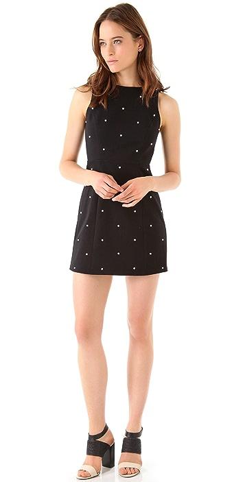 Tibi Dover Beading Dress
