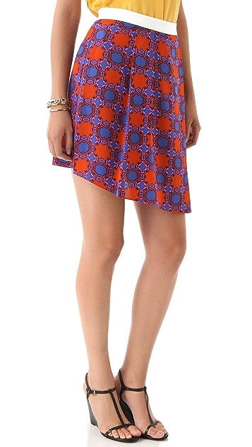 Tibi Nicola Asymmetrical Skirt