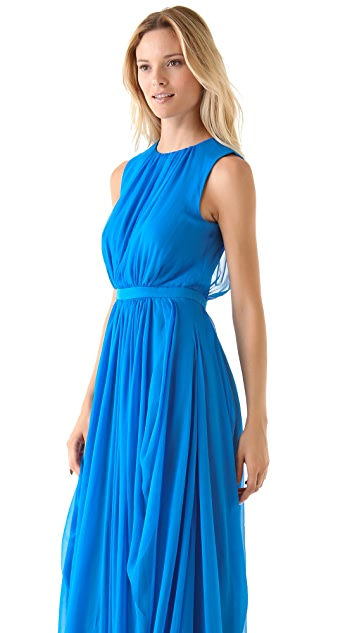 Tibi Vivien Draped Gown
