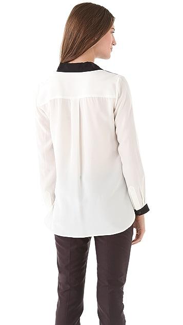 Tibi Jude Silk Shirt