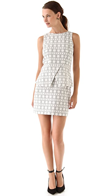 Tibi Asher Sleeveless Dress