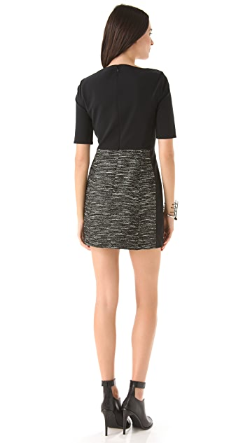 Tibi Maryann Tweed Dress