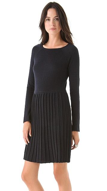 Tibi Pleated Dress