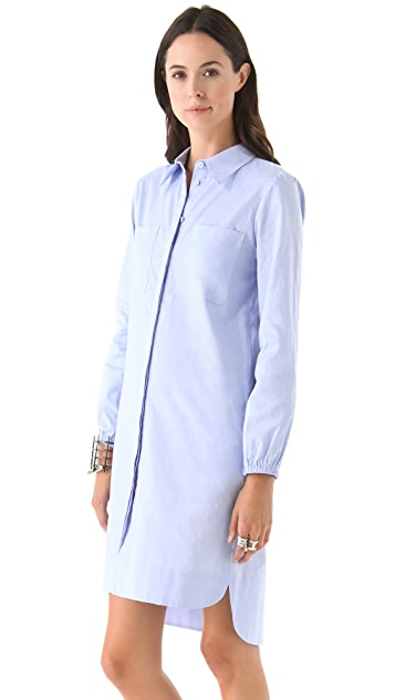 Tibi Cotton Shirtdress