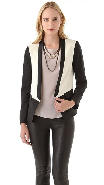 Tibi Wool Tuxedo Jacket